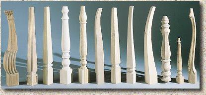 Gambe di legno per tavoli | Decoupageitalia